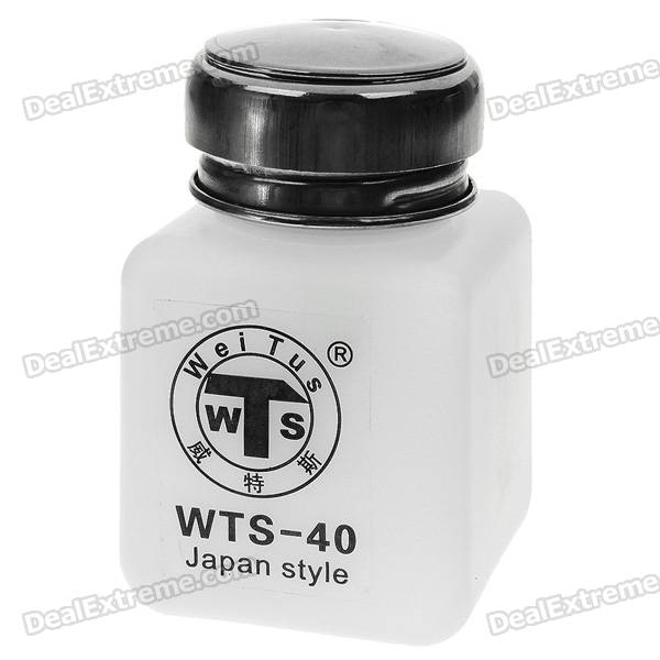 Alcohol and Liquid Container Bottle - White (120ml)