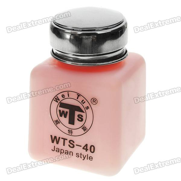 Alcohol and Liquid Container Bottle - Pink (100ml)