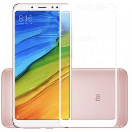 ASLING Explosion-proof Full Coverage Screen Protector for Xiaomi Redmi Note 5 - White (2 PCS)