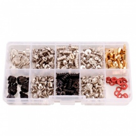 228PCS Computer Case Motherboard Fan Hard Drive Screw Assortment Kits