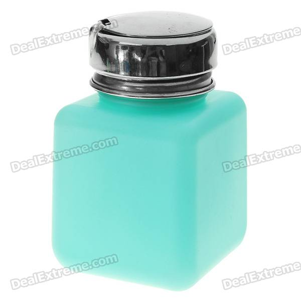 120ml Alcohol and Liquid Container Bottle - Peak Green