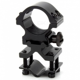 ACCU 25mm Gun Mount Holder Clip Clamp for Flashlight - Black