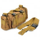 Portable Durable Nylon Waist Bag - Coyote Tan