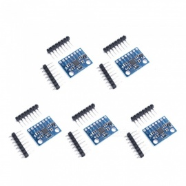 ESAMACT GY-521 MPU-6050 5Pcs 3-Axis Accelerometer Gyroscope Modules