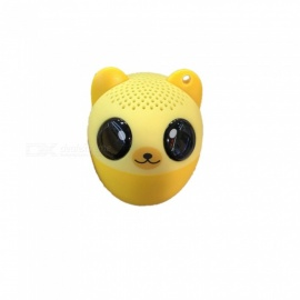 SPO Mini Portable Cute Pet Style Wireless Bluetooth Speaker - Orange
