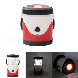 ZHISHUNJIA Built-in 2200mAh Lithium-ion Battery Portable Retractable Induction LED Camping Light - Red