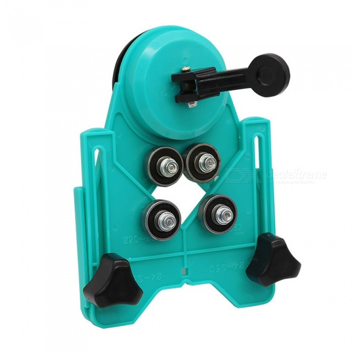 ZHAOYAO Tile Glass Marble Perforated Fixer Drill Locator Tile Chamfer -  Lake Blue