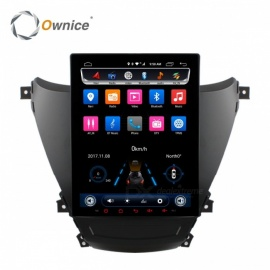 "Ownice High Version Vertical Screen Octa-Core 9.7"" Android 6.0 Car DVD Player for Hyundai Avante 2012-2016"