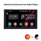 Funrover 2 Double Din Universal Car Radio DVD Player, Stereo HD 7