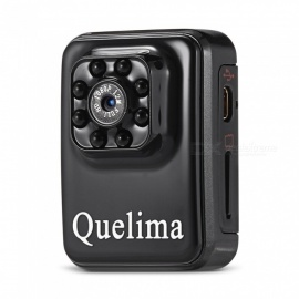 Quelima 8 Infrared Night Vision DVR HD 1080P Video DV
