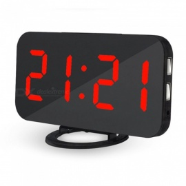 Creative LED Digital Table Alarm Clock - Red Light