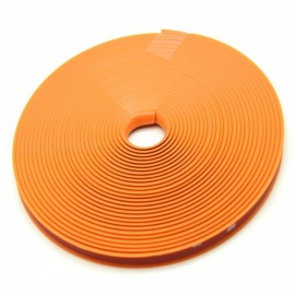 Kelima Car Tire Decorative Color Strip Tyre Wheel Decoration Silicone Strip - Orange