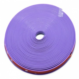 Kelima Car Tire Decorative Color Strip Tyre Wheel Decoration Silicone Strip - Purple