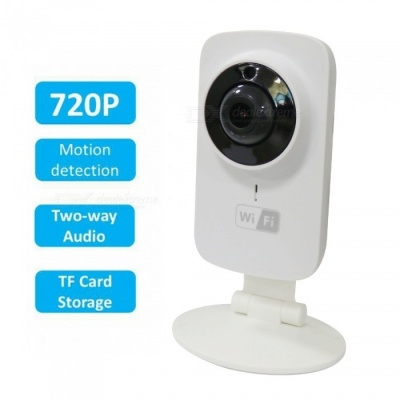 Mini Wifi IP Camera Wireless 720P support 64G MIcro SD Smart Baby Monitor CCTV Security Camera Remote Audio Speaker IR LED