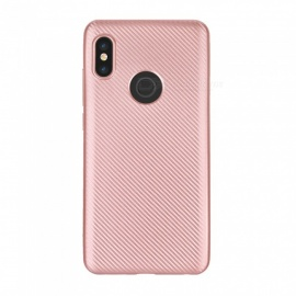 Protective TPU Back Case Cover for Xiaomi Redmi Note 5 - Rose Gold