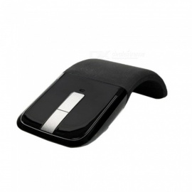 mouse wireless con mini mouse pieghevole per ricevitore USB per macbook laptop