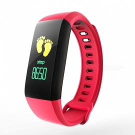 G5 Color Screen Bluetooth Smart Bracelet w/ Heart Rate / Blood Pressure / Sleep Monitoring / Multiple Sports Mode