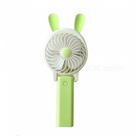 Ismartdigi iQ7 Mini Portable Handheld Fan Rechargeable USB Fan - Green
