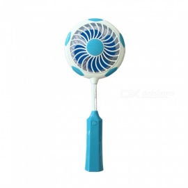 Ismartdigi Racket Style Mini Portable Handheld Fan Rechargeable USB Fan - Blue