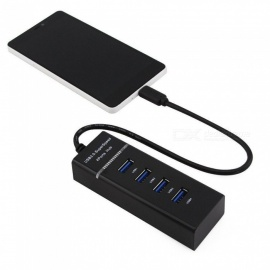 "USB3.1 Typ-C zu 4-Port USB 3.0 Hub Adapter für 12"" MacBook Air Festplatte"