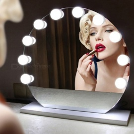 YWXLight 10-LED USB Powered Makeup Mirror Vanity LED Light Bulbs Kit