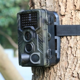 Hunting Camera HC-800A with 3PIR 0.5s Trigger 8AA 2'' LCD 12MP Waterproof for Forest Wildlife Trail