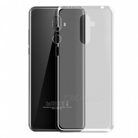 Ultra-Thin TPU Back Cases for Cubot X18 Plus - Transparent White