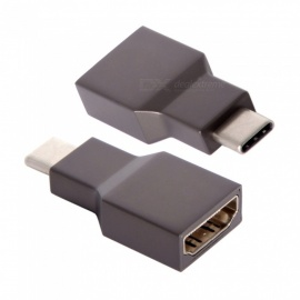 CY UC-314 USB-C HDMI Cable, Type-C to 4K 2K HDMI Converter Adapter