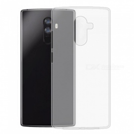 Protective Transparent TPU Back Cover Soft Case for Doogee Mix2 - Transparent White