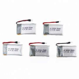 5PCS 3.7V 850mah RC lipo batterier for syma x5 x5c x5sw x5sc cx30 cx-30