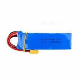 11.1V 2800mah 3S 30C batteri for wltoys V303 XK X350, cheerson CX 20 CX20
