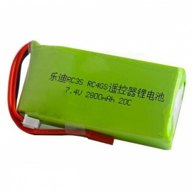 2S 7.4V 2800mah JST plugg 20C lipo batteri for radiolink RC3S RC4GS RC6GS sender