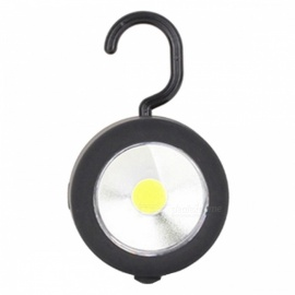 ZHISHUNJIA YH-6484 LED Outdoor Camping Lamp COB Working Light with Hook - Black