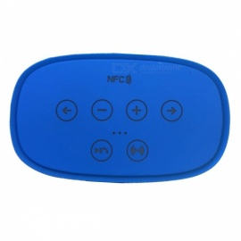 SPO 3D1+1 Wireless Portable Outdoor Double Connection Bluetooth Speaker - Blue