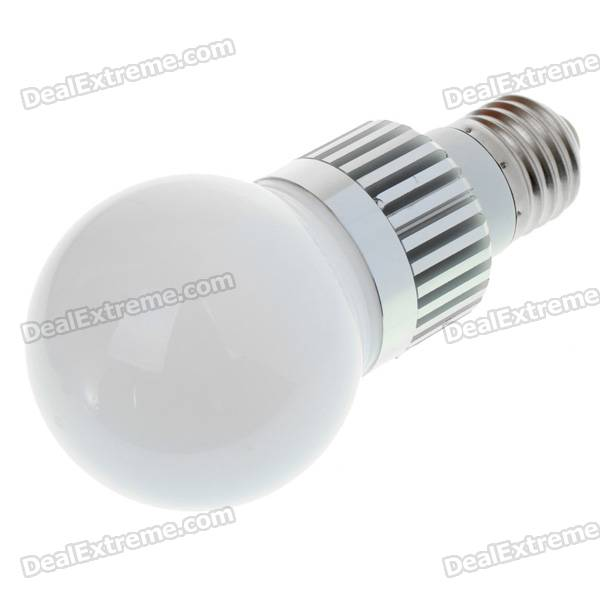 3W 260-Lumen 6500K White LED Light Bulb (220V)