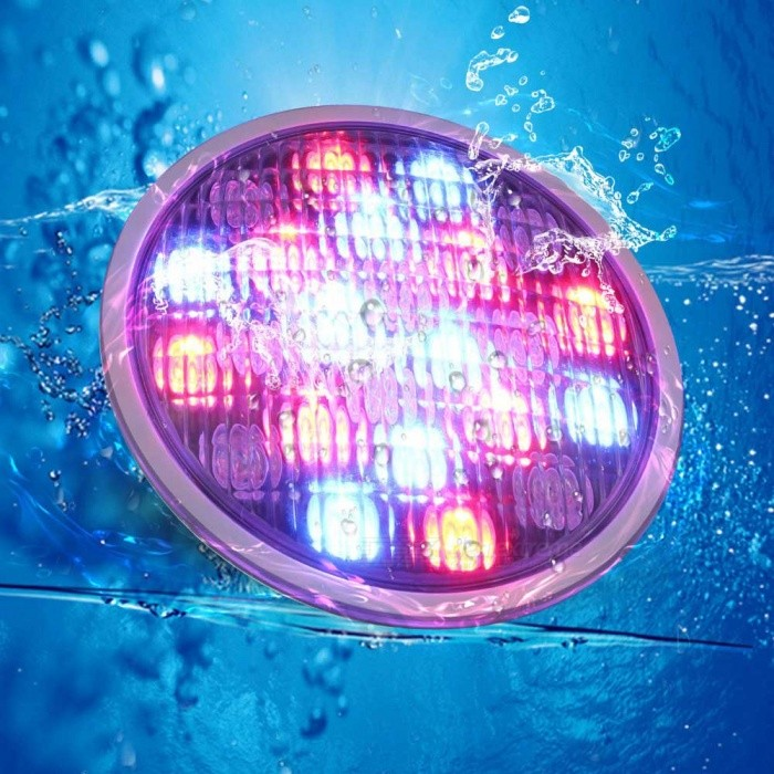 Youoklight Yk6227 18w Rgb Color Changing Led Swimming Pool Light Underwater Lamp Silver Ac Dc