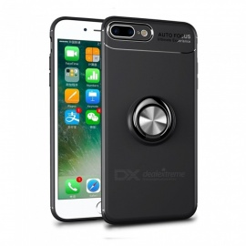 Dayspirit Car Holder Stand Magnetic Bracket Finger Ring TPU Case for IPHONE 7 PLUS, 8 PLUS