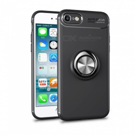 Dayspirit Car Holder Stand Magnetic Bracket Finger Ring TPU Case for IPHONE 7, 8