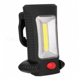 ZHISHUNJIA LED Outdoor Camping Lamp COB Working Light - Black