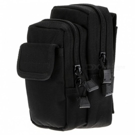 Marsupio sportivo Tactical Outdoor X-2 Marsupio pacchetto accessorio molle - nero