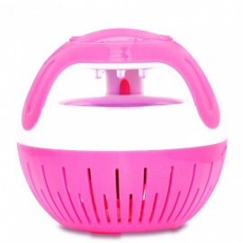 Household Electronic Photocatalyst Mosquito Repellent LED Lamp - Pink