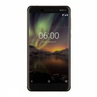 Nokia 6.1 TA-1068 Android Smart Phone with 4GB RAM, 64GB ROM - Black