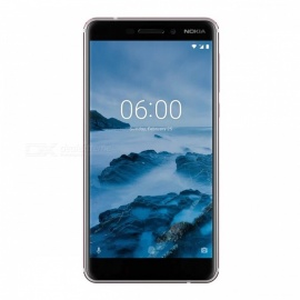Nokia 6.1 TA-1068 Android Smart Phone with 4GB RAM, 64GB ROM - White