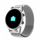 R13 Men's Smart Wrist Watch Sports Bracelet Fitness Tracker with Heart Rate Monitoring - Silver