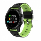 R13 Men's Smart Wrist Watch Sports Bracelet Fitness Tracker with Heart Rate Monitoring - Green