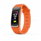 SMA-B3 2018 Touch Screen Smart Bracelet with Blood Pressure Heart Rate Monitoring Pedometer - Orange