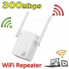 Wireless Wi-Fi Repeater 300Mbps Signal Range Extender Amplifier Mini WiFi 802.11n/b/g WLAN WPS Encryption - EU Plug