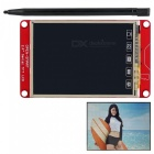 "OPEN-SMART 2.4"" UART Serial TFT LCD Module Touch Screen Expansion Shield with Touch Pen for Arduino UNO R3 / Mega2560 / Nano"