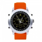 DX18 Professional Waterproof Luminous Dial Bluetooth Smart Watch with Stopwatch, Distance Record - Orange