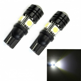 JRLED T10 3W Cool White 5050 4-SMD+1 COB LED Car Reading Lamps (2PCS)